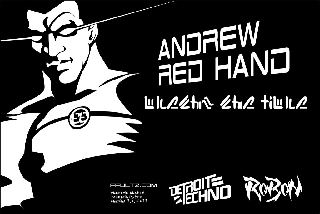 Andrew Red Hand - Exclusive Artwork Frankie Fultz of UR